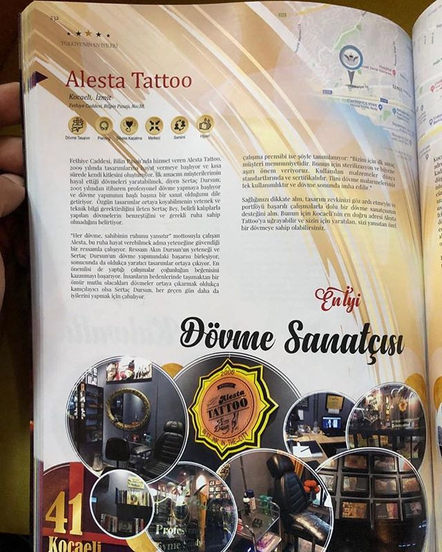 Layık görüldüğümüz ödülden dolayı herkese tesekkür ederiz. 🏻@eniyi.best #dövmesanatı #izmitdövmeciler #izmitdövme #alestatattoo #tattoo #tattoos #tattooart #tattoodesign  #sertacdursun #dövme #dövmeciler #izmit #kocaeli #tattoo #tattooed #ink #artist #tattooist #dövme #dövmesanatı #alestatattoo #tattooselection #love #fashion #tbt #instaartweb: www.alestatattoo.comfacebook: alestatattooinstagram: alestatattoopinterest: alestatattoo